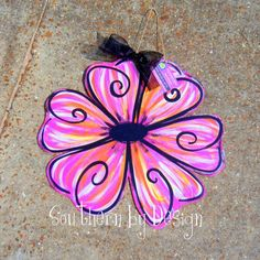 Hey, I found this really awesome Etsy listing at https://www.etsy.com/listing/130876511/spring-summer-flower-wooden-door-hanger