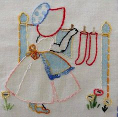 How's your week looking? Are you doing laundry today? Then ironing on Tuesday and sewing on Wednesday? The farmers' market in my town is Thursday, so this might be somewhat accurate. I will have to hunt around for my gathered. Embroidery Transfers, Hand Embroidery Stitches, Machine Embroidery Patterns, Hand Embroidery Designs, Embroidery Art, Embroidery Applique, Cross Stitch Patterns, Quilt Patterns, Fabric Painting