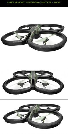 Parrot AR.Drone 2.0 Elite Edition Quadcopter - Jungle #tech #technology #gadgets #camera #plans #parrot #fpv #kit #parts #drone #shopping #2.0 #products #racing