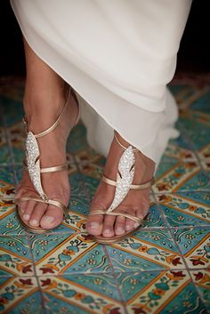 Grecian shoes-great for summer wedding♡