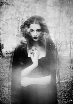 Isabell N Wedin - Harvest Agency (old fashioned moody hedge-crosser)   witches       #bw #photography #portrait