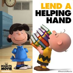 Lift someone's spirits today. You're a good man Charlie Brown!