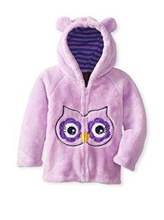 Girls Rule Little Girls' Owl Printed Hoodie with Ears - List price: $29.00 Price: $19.99 Saving: $9.01 (31%)