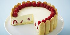 Elegant Raspberry Lemon Torte: What a hit! Not even the crumbs were left at our surf & turf family dinner.