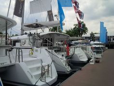 #Beneteau and #Lagoon booth at @Singapore Yacht Show 2014 #simpsonmarine #SYS #SGP #SingaporeYachtShow #SingaporeYachtShow2014 #Singapore