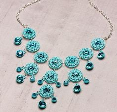 Beautiful Blues Necklace
