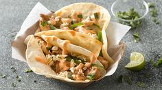 These fresh and flavorful chicken tacos are inspired by the popular Vietnamese soup called pho.