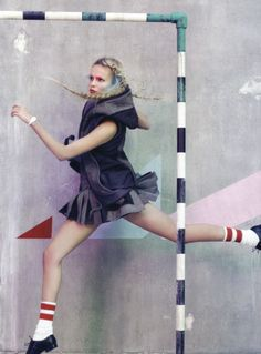 Craig McDean and Tabitha Simmons for Vogue Italia March 2010