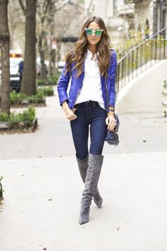 SomethingNavy in PAIGE Denim / TRANSCEND / Margot in Armstrong
