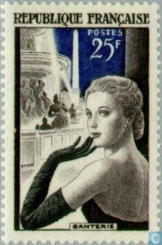 Postage Stamps - France [FRA] - Industry