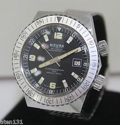 Vintage 1969 #swiss #sicura 23j breitling 400 vaccum #tested diver dive mens watc, View more on the LINK: http://www.zeppy.io/product/gb/2/222273520728/