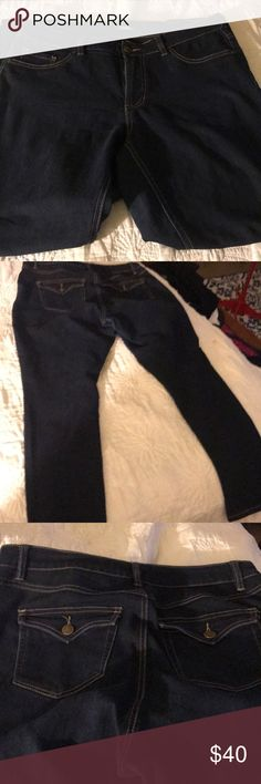 D- jeans 👖 straight leg I love these jeans 👖,to big now D-jeans straight leg. Dark navy D- Jeans Pants Straight Leg