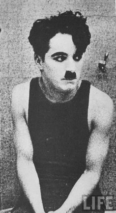 A young Charlie Chaplin c.1920s
