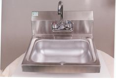 Quality Commercial Kitchen Equipment - Wall Mount Economy Hand Sink ...