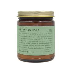 Fortune Candle — Honest
