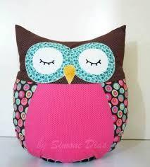 Résultats de recherche d'images pour « almofada de tecido passo a passo » Owl Sewing Patterns, Origami, Lunch Box, Coin Purse, Cushions, Throw Pillows, Doorstop, Ideas Para, Owls