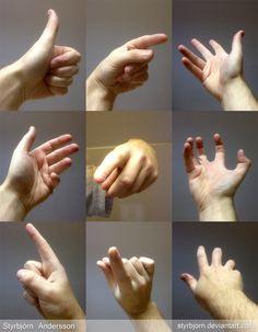références de mains  3