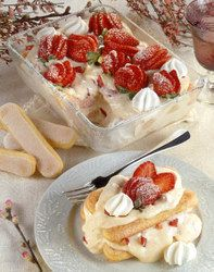 Strawberry & Prosecco Tiramisu