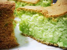 Peng's Kitchen: Coconut Pandan Cake