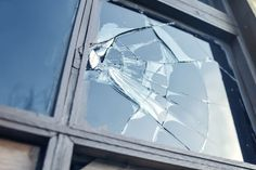 Photo about Broken glass window reflecting blue sky. Image of glass, window, home - 40466907 Broken Window, Broken Glass, Vitrier Paris, Feng Shui, Window Glass Repair, Smart Glass, Sell My House, Wireless Home Security Systems, Windows
