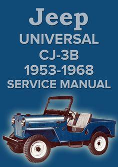jeepster commando 1966 1971 service manual amc car manuals rh pinterest com jeep commando service manual 1972 jeep commander service manual pdf