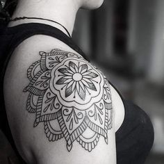 Shoulder Mandala tattoo