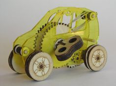 Wind Up Car Kit by Kleiners on Etsy