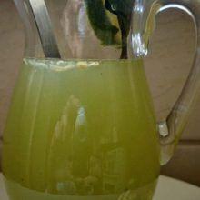 Homemade lemon and mint drink that removes belly fat Remove Belly Fat, Blackhead Remover, How To Remove, Mint, Homemade, Lemon, Beauty, Knitting, Peppermint