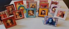 """How to make """"framed"""" photos for Monster High Dolls - Includes free printable photos."""
