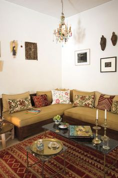 Marrakesh by Design Morrocan Homes Maryam Montague - mediterranean - living room - new york - Workman Publishing/Artisan Books
