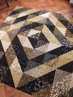 Macchiato Batik FQ's ~ Holiday Tiles pattern