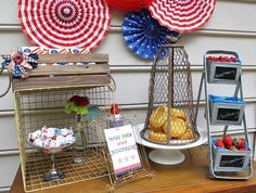 Build Your Own 4th of July Shortcake Setup by DIY Ready at http://diyready.com/4th-of-july-recipes-and-party-ideas/
