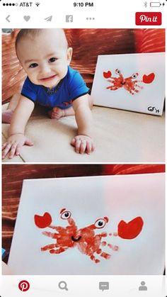 Crabby hands
