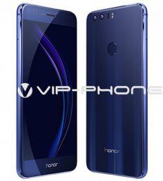 Huawei Honor 8 32GB Dual-Sim Kék gyártói garanciás Kártyafüggetlen Mobiltelefon