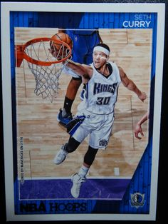 2016-17 Panini Hoops #197 Seth Curry Dallas Mavericks Basketball Card #DallasMavericks