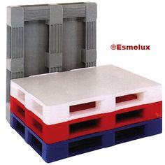 Palets de polietileno higiénico para estanterías.  http://www.esmelux.com/palets-de-polietileno-higi%C3%A9nico-para-estanter%C3%ADas