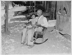 Charley Williams and Granddaughter, Age 94