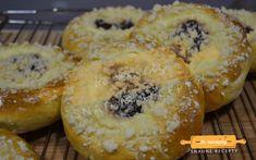 Moravské koláče s tvarohovou plnkou – Snadné Recepty