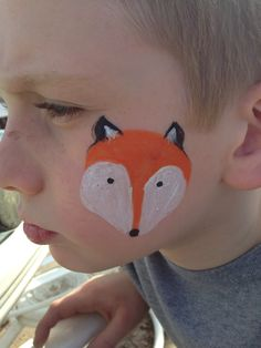 Face Painting - Fox