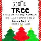 """Create your own Geome-""""tree"""" to practice plane and/or solid shape identification and graphing!     Check out my teaching blog for more fun and freebi..."""
