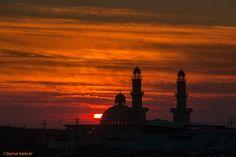 Mosque at sunset (near Arbil, Kurdistan, Iraq) by Samal karkuki on 500px