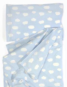 Vauvan pussilakanasetti Pilvi Baby, 100% luomupuuvillaa // Duvet cover set for baby