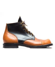 VIBERG X PTC - BLACK & WHISKEY SERVICE BOOT