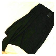Eva Varro Nwt, black skirt. About knee length Eva varro Skirts Asymmetrical