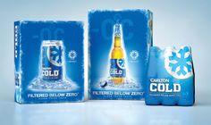 Carlton Cold by The Key Branding, via Behance