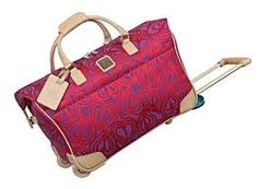 DVF Rolling Luggage#Pin By:Pinterest++ for iPad#