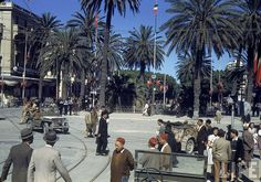 vintage everyday: Color Photos of Tunisia and Libya in the North African Campaign of World War II, 1943 North African Campaign, Erwin Rommel, Photos Originales, Haunting Photos, Afrika Korps, German Army, War Machine, France, Military History