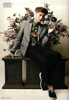 EXO poses for CeCi June issue ~ Latest K-pop News - K-pop News | Daily K Pop News