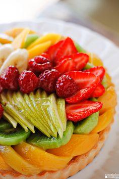 A Cozinha Coletiva: Torta de Frutas & Creme