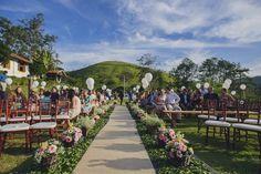 Cerimônia de Casamento com Balões – Gabi
